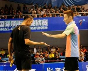 Lin Dan und Lee Chong Wei im HD